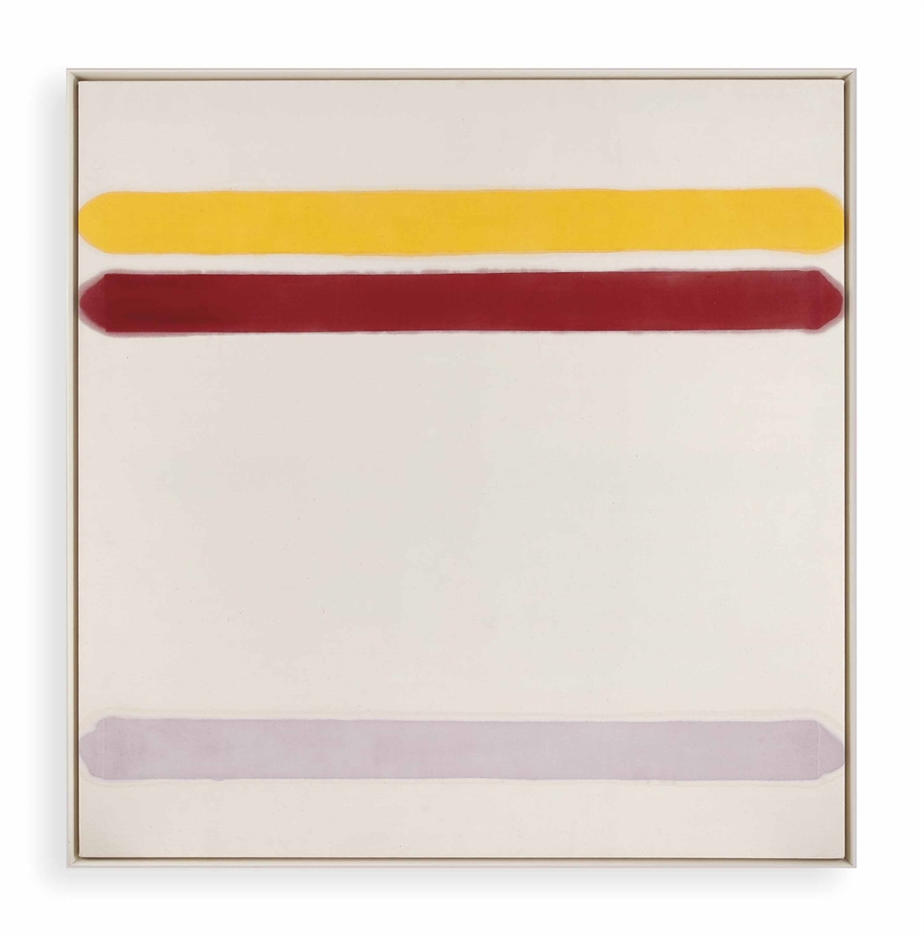 Kenneth Noland-Overtones-1961