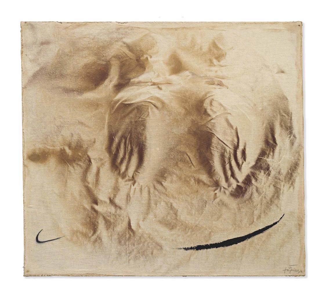 Antoni Tapies-Dos Peus (Two Feet)-1982