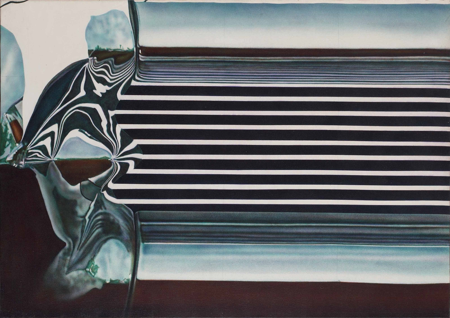 Don Eddy-Detail 1 of Bumper. Section XII: Isla Vista-1970