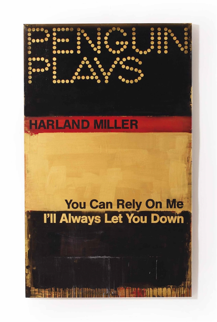 Harland Miller-You Can Rely On Me. I'll Always Let You Down-2014
