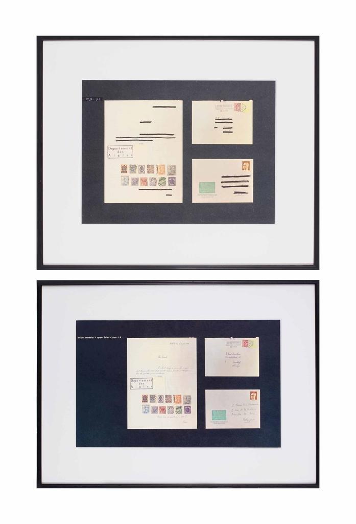 Marcel Broodthaers-Lettre ouverte (Open Letter)-1972