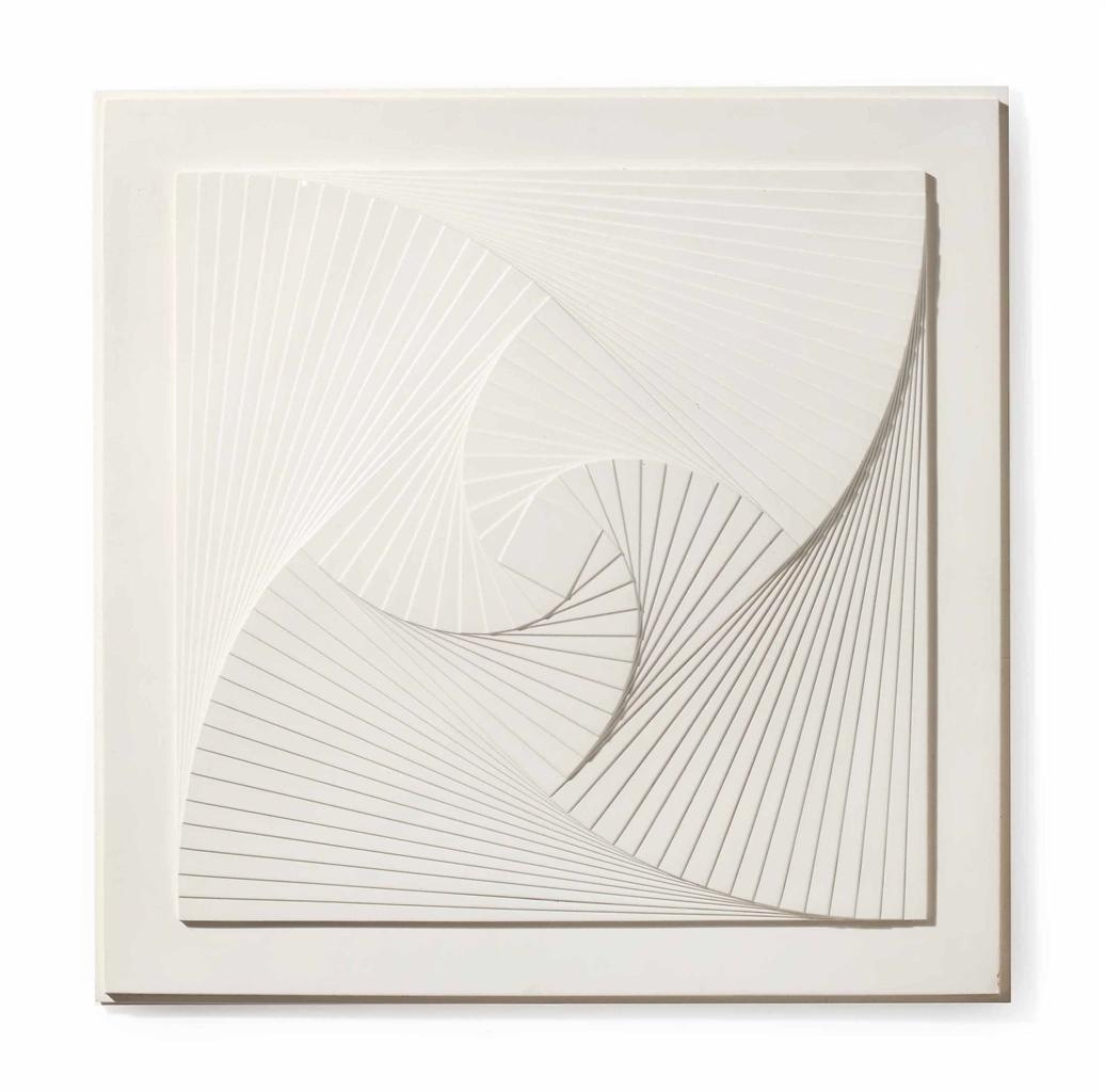 Ad Dekkers-Verschoven Kwadraten (Shifted Squares)-1965