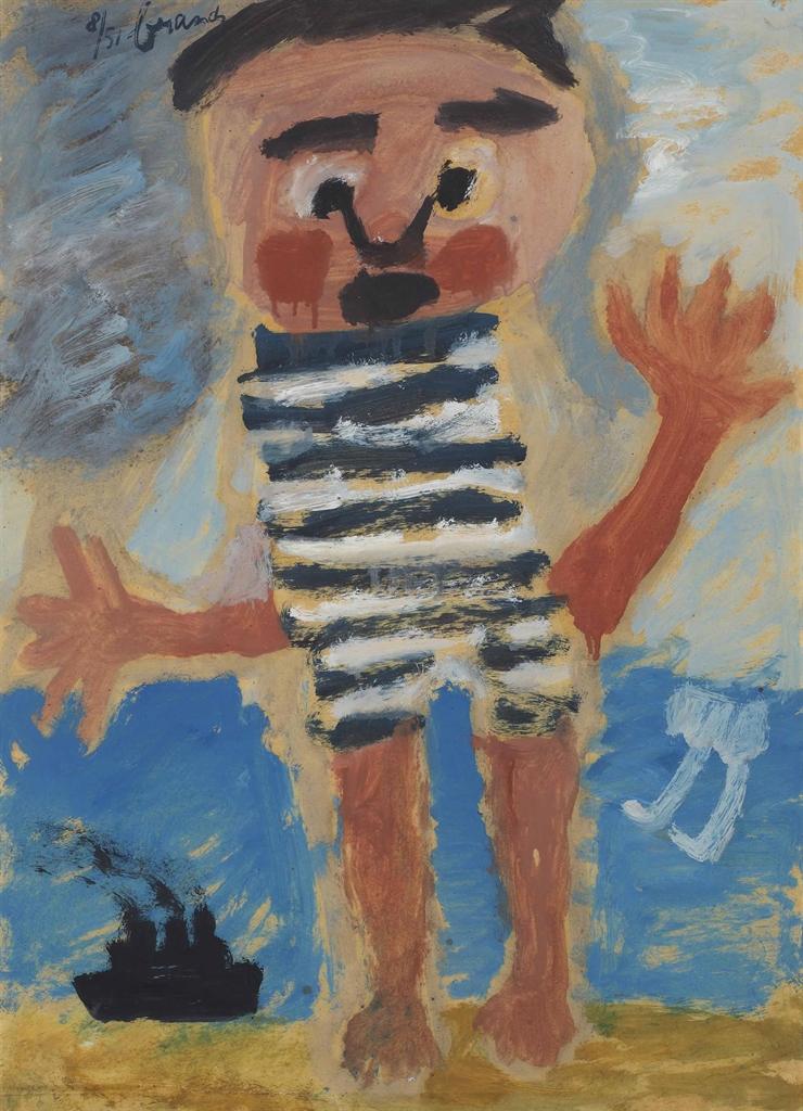 Eugene Brands-Verschrikt Kind (Scared Child)-1951