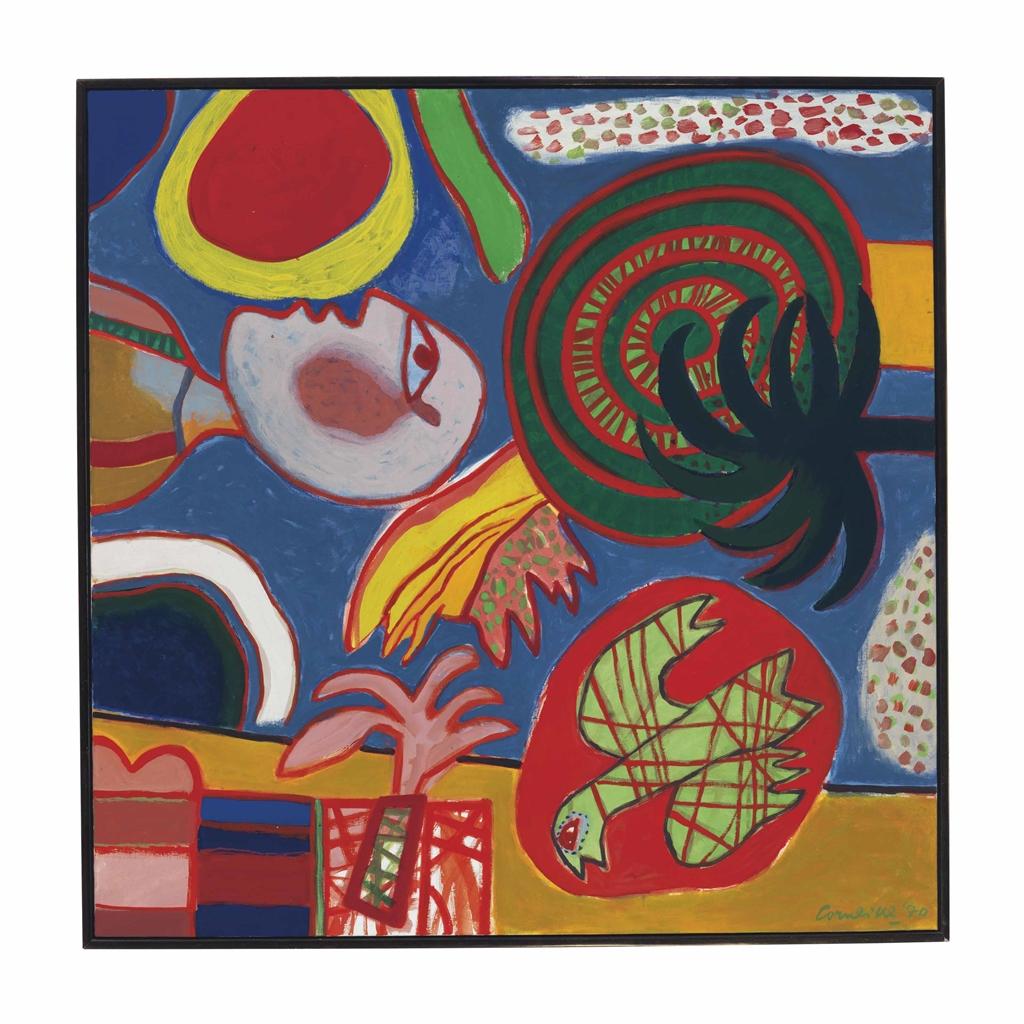 Corneille-L'Afrique me hante (Africa Haunts Me)-1970