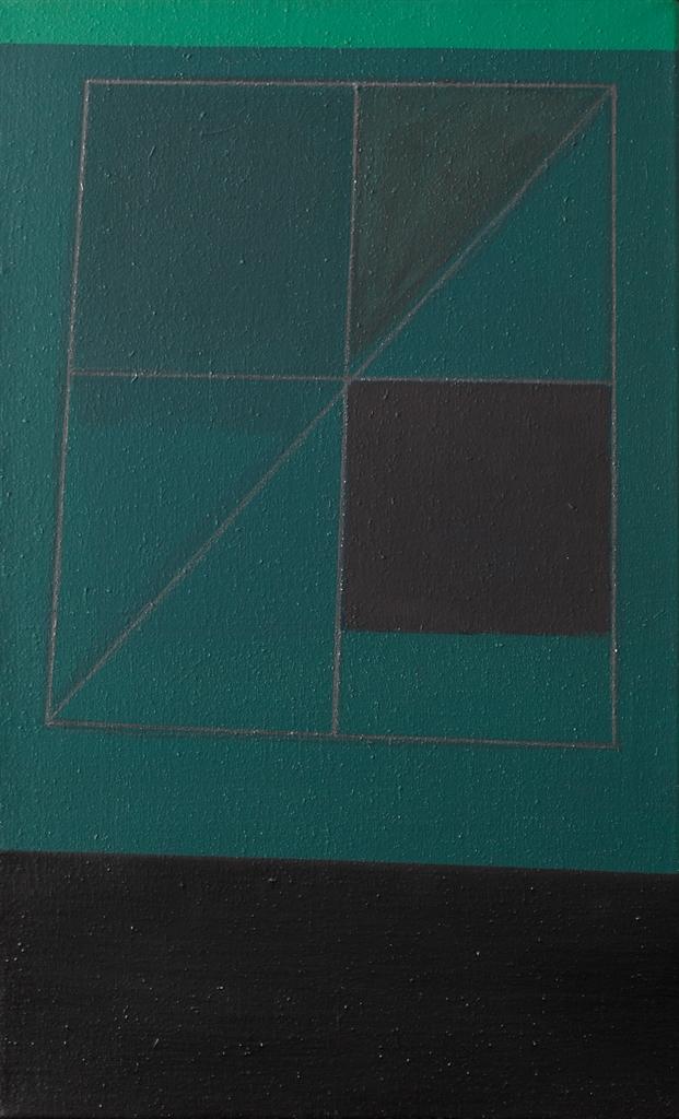 Gunter Tuzina-Gegenform - Grun (Opposite Colour - Green)-1989