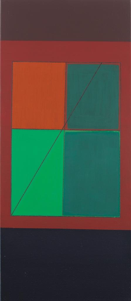 Gunter Tuzina-Form - Bezeichnen - Rot (Form - Identity - Red)-1991