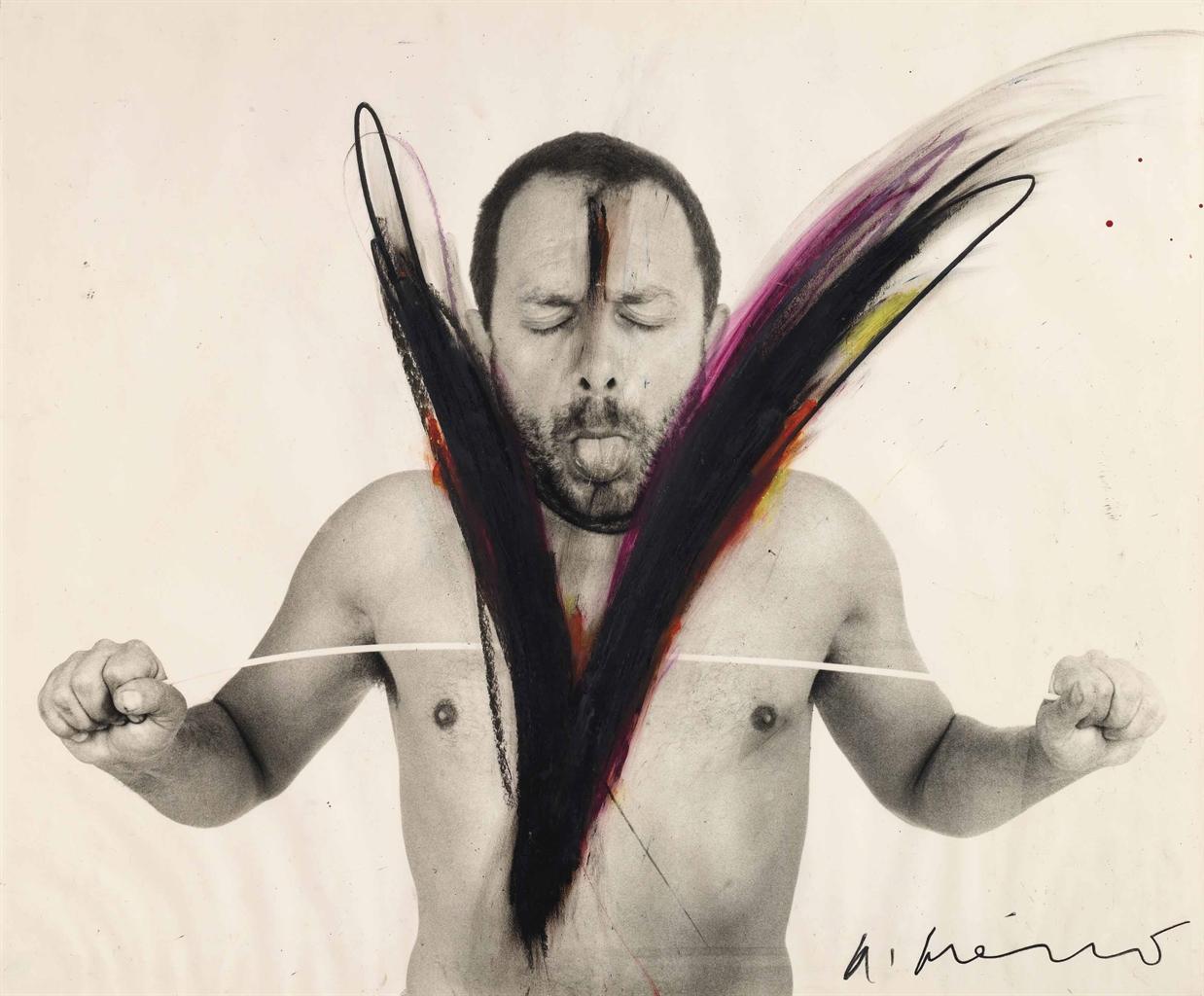 Arnulf Rainer-Untitled-1972