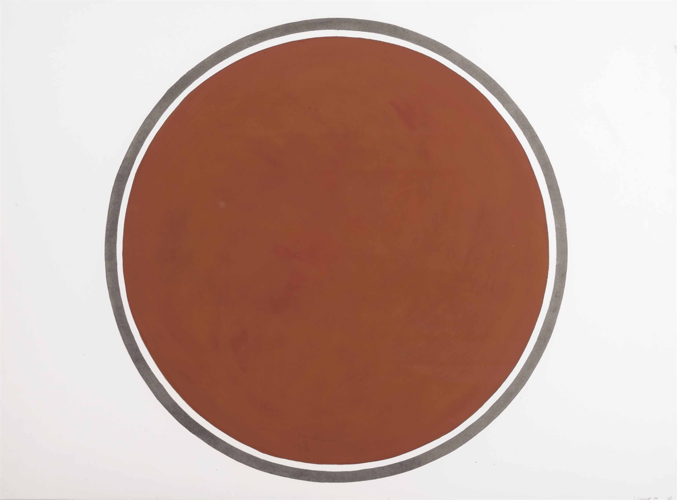 Sol LeWitt-Circle-1989