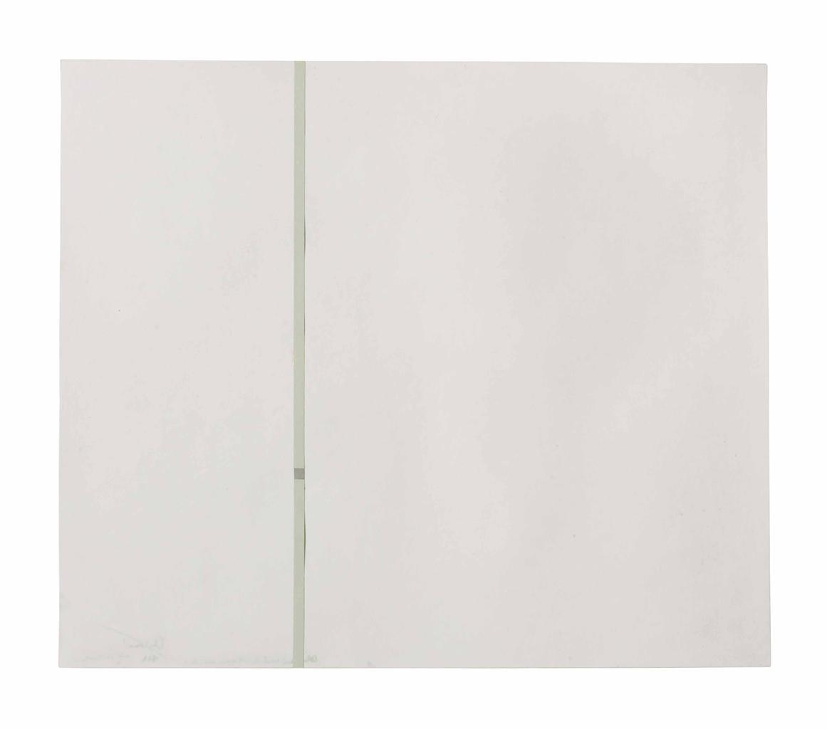 Antonio Calderara-Attrazione Quadrata in Tensione Verticale (Square Attraction in Vertical Tension)-1963