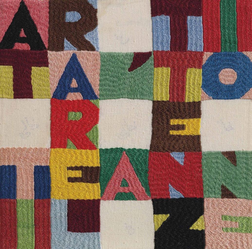Alighiero Boetti-Attirare l'Attenzione (Attracting the Attention)-1988