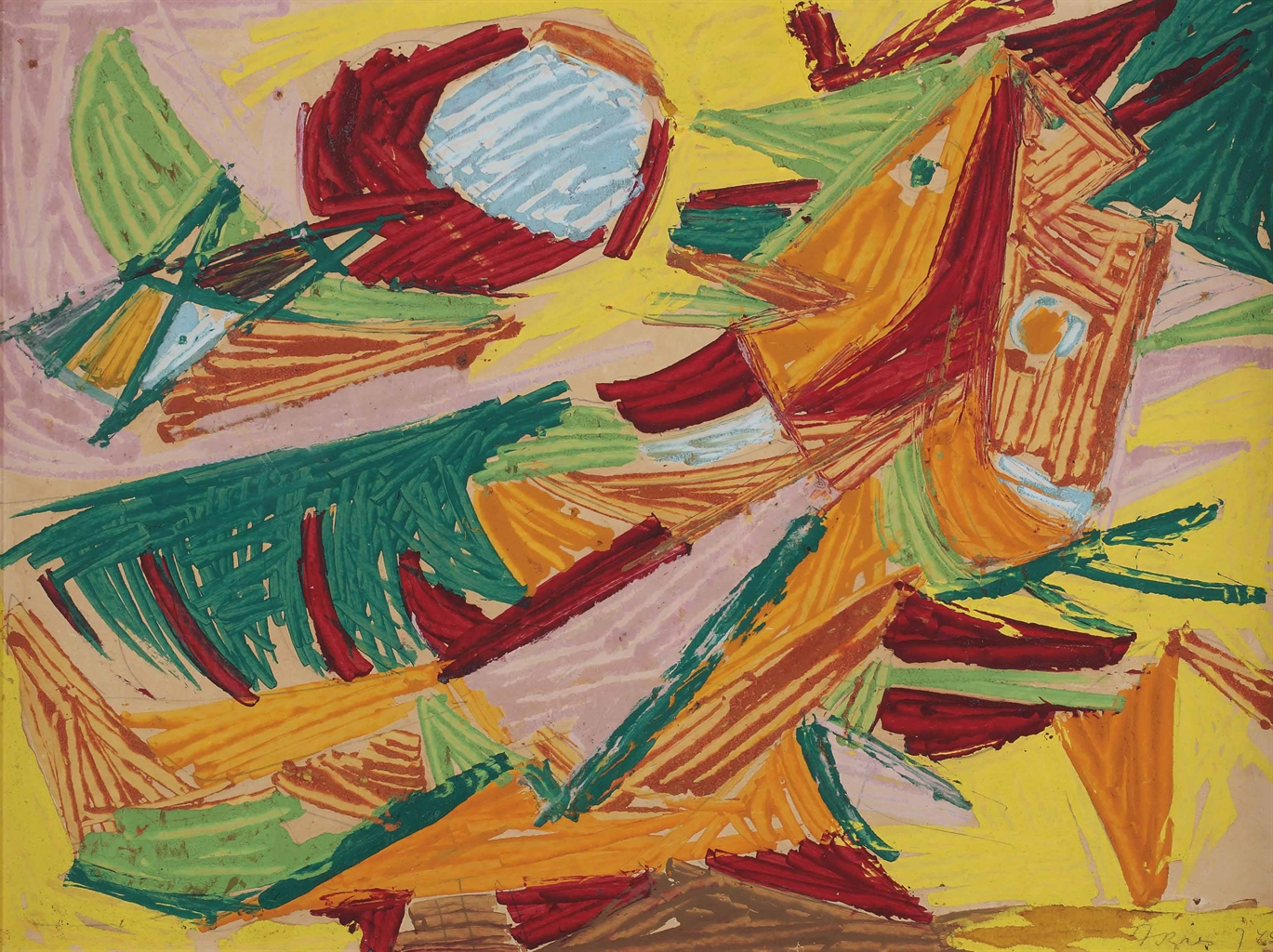 Asger Jorn-Untitled-1945