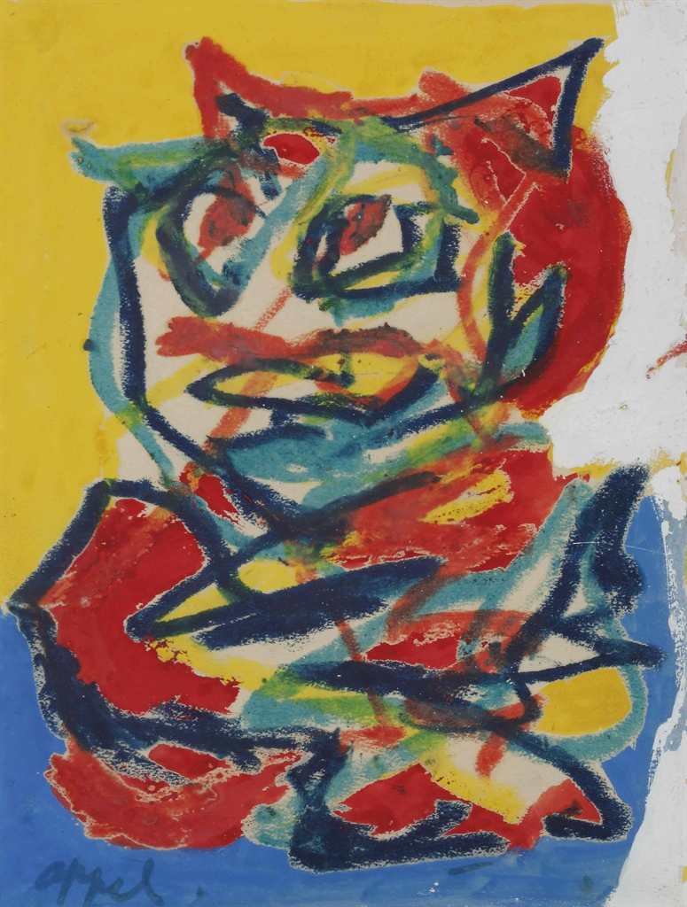 Karel Appel-Untitled-
