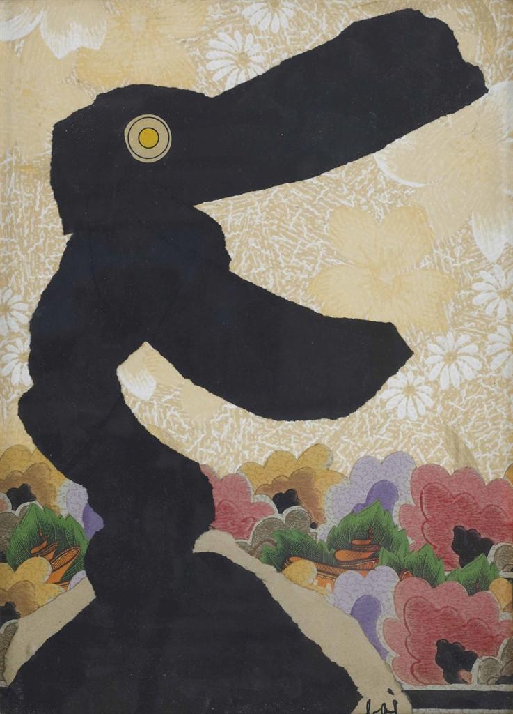 Enrico Baj-Animale Felice (Happy Animal)-1966