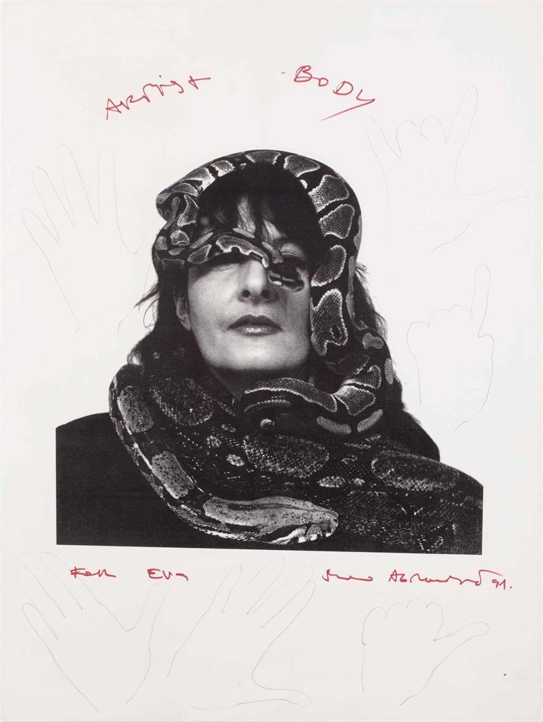 Marina Abramovic-Artist Body-1991