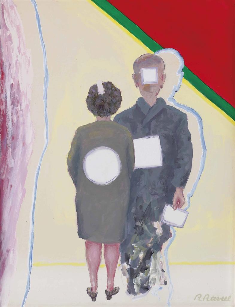 Roger Raveel-De Genodigden (The Invited)-1997