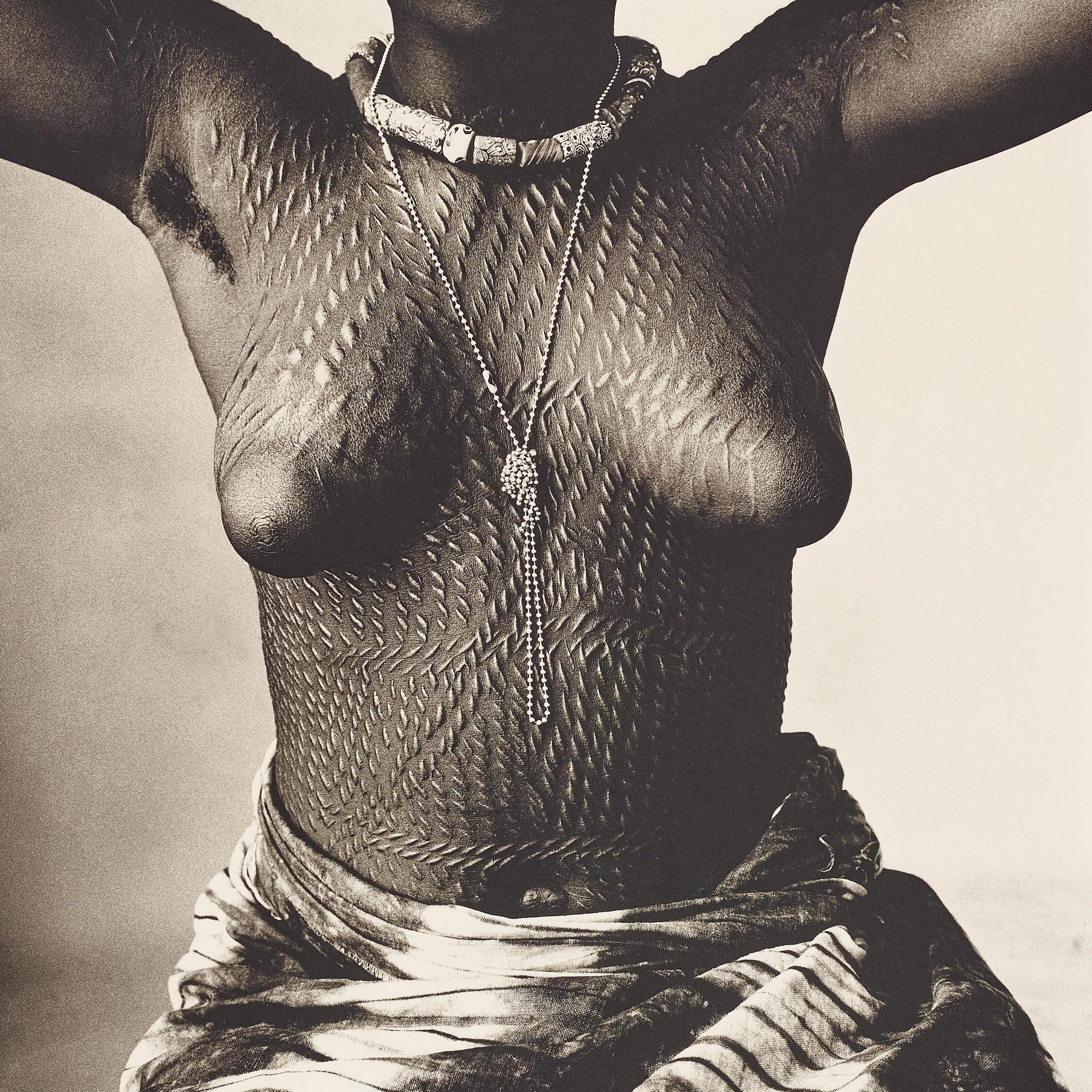 Irving Penn-Scarred Dahomey Girl, Cameroon-1967