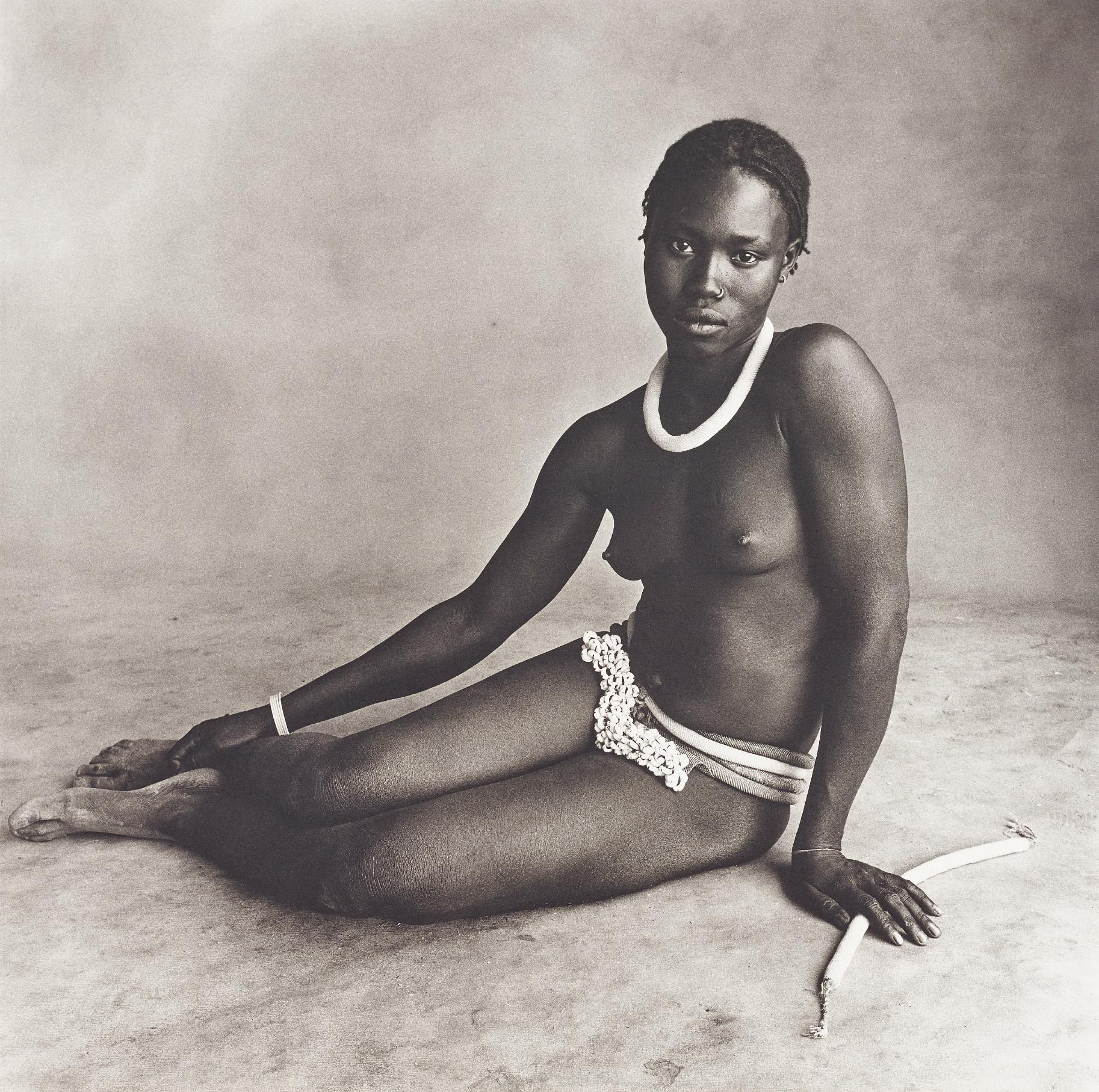Irving Penn-Nubile Young Beauty Of Diamare, Cameroon-1969