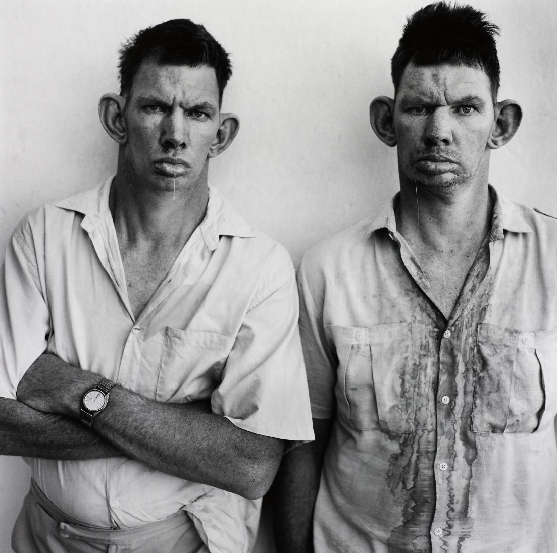 Roger Ballen-Dresie And Casie, Twins, Western Transvaal-1993