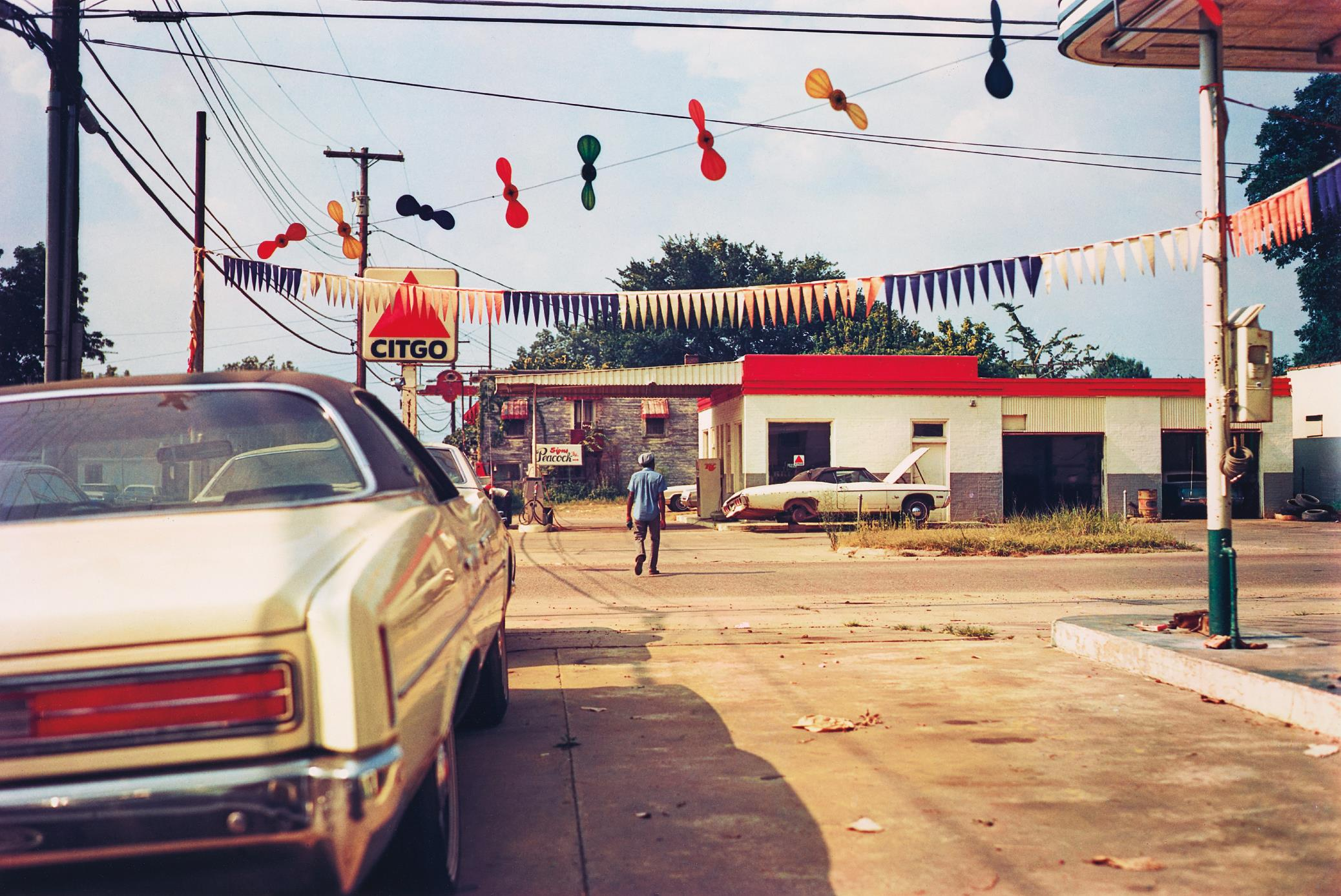 William Eggleston-Untitled (Citgo Gas Pump)-1976