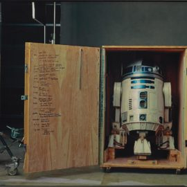"""Annie Leibovitz-R2-D2 On The Set Of """"Star Wars: Episode Ii, Attack Of The Clones"""", Pinewood Studios, London-2002"""