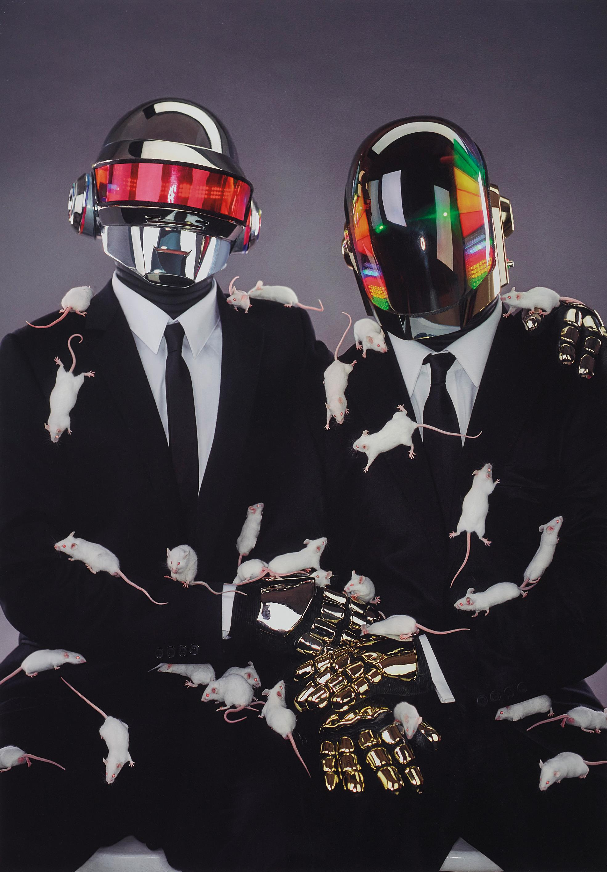 Jean-Baptiste Mondino-Daft Punk-2001