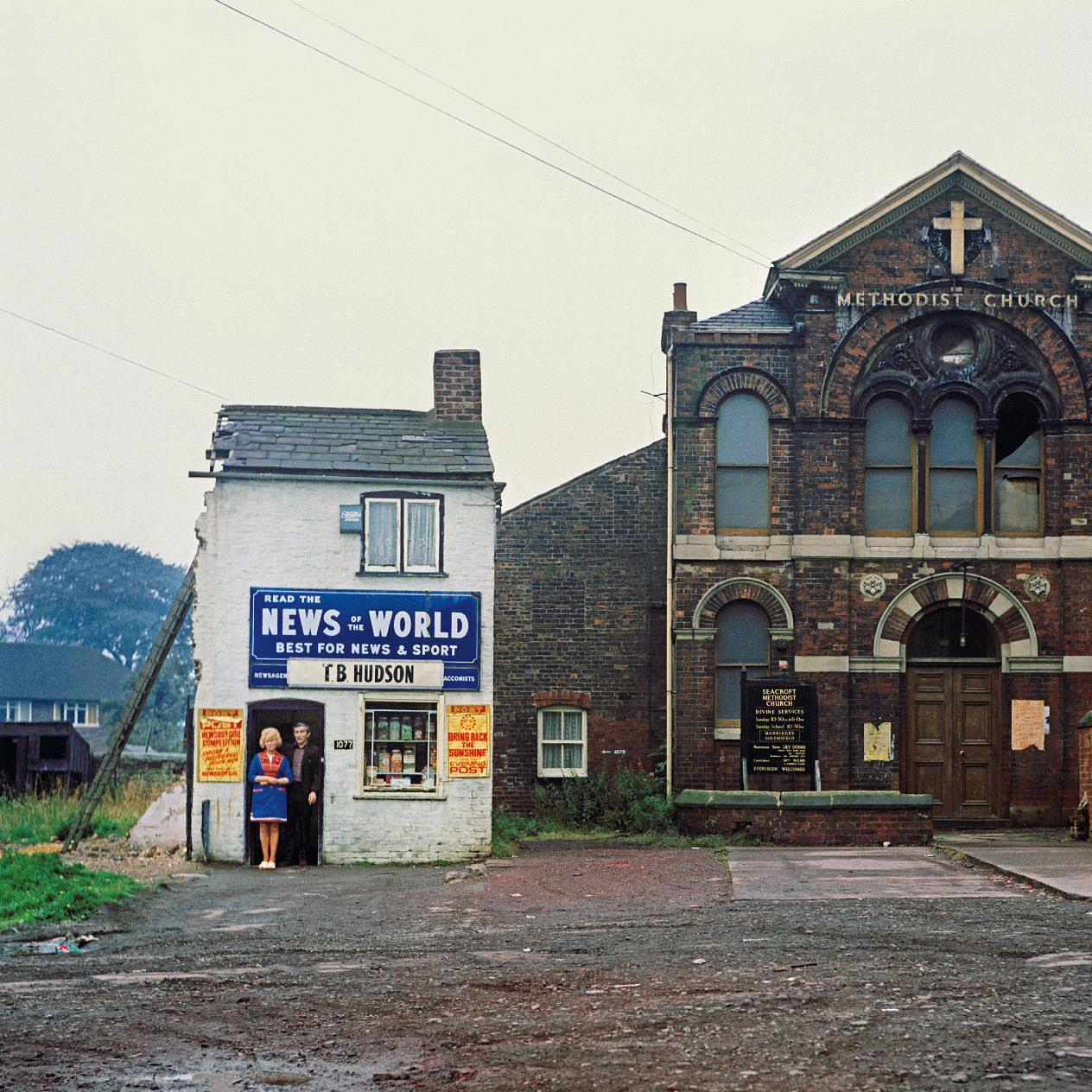Peter Mitchell-Mr And Mrs Hudson, Newsagents, Seacroft, Leeds-1974