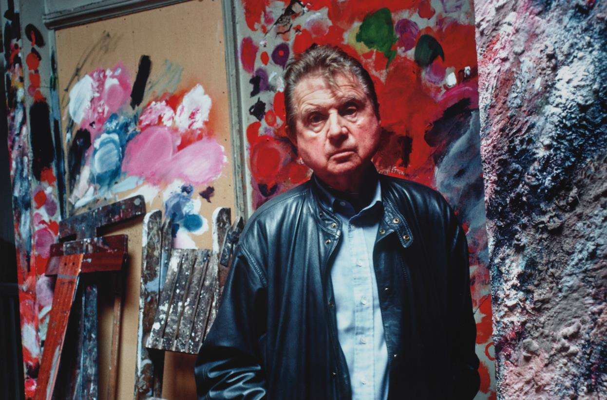 Bruce Bernard-Francis Bacon In His Studio, Reece Mews-1983