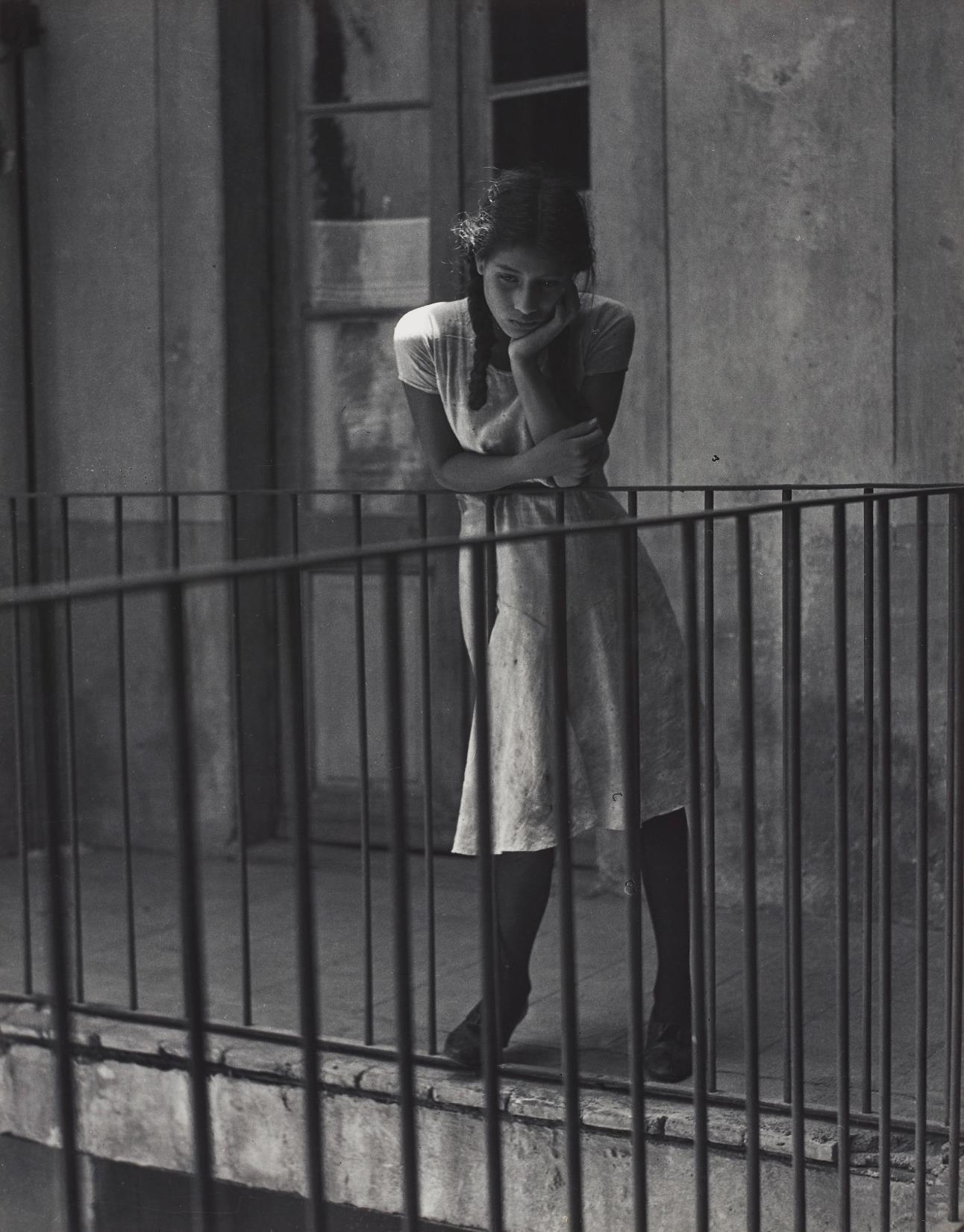 Manuel Alvarez Bravo-El Ensueno (The Daydream)-1931