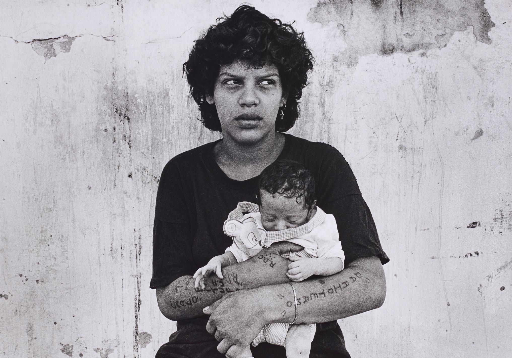 Adriana Lestido-Amalia Y Su Hija From Mujeres Presas-1991