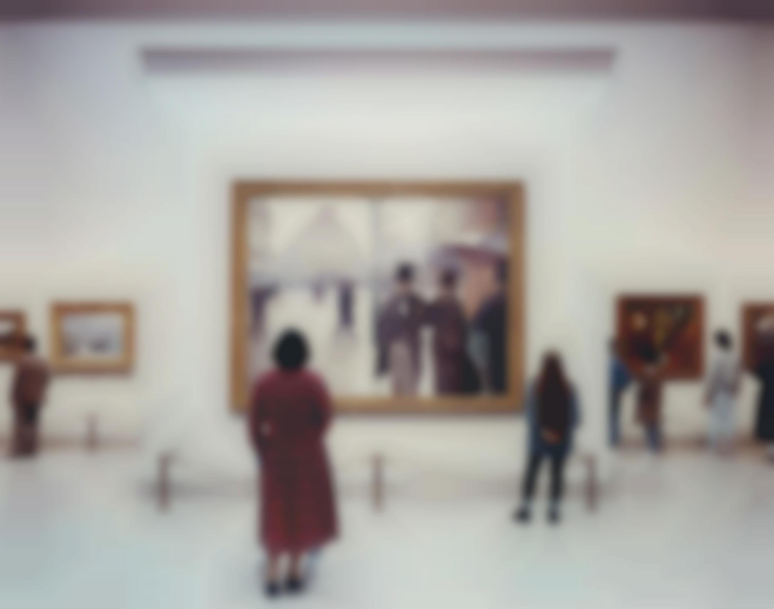 Thomas Struth-Art Institute Of Chicago II, Chicago-1990