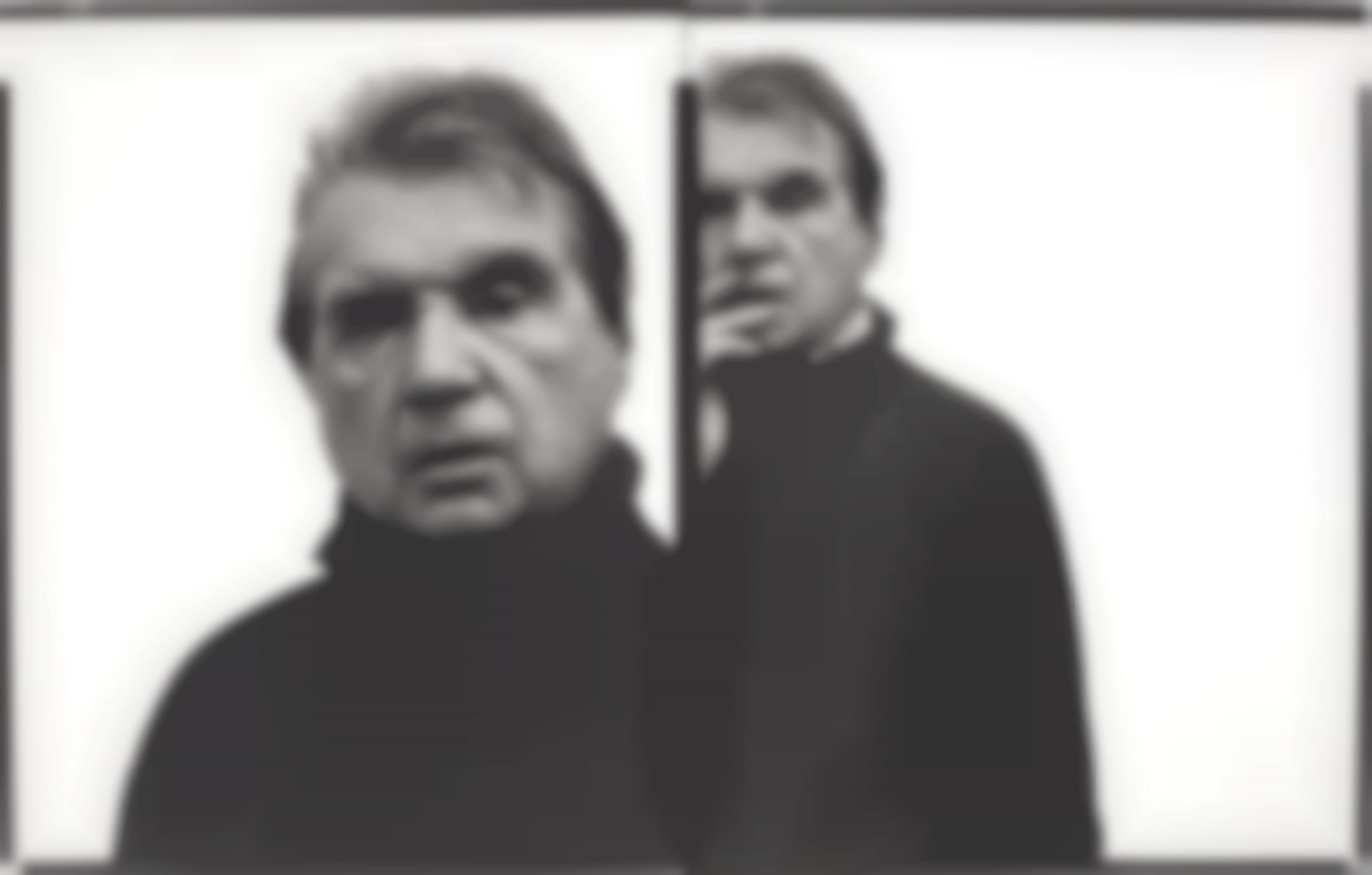 Richard Avedon-Francis Bacon, Artist, Paris, April 11, 1979-1979