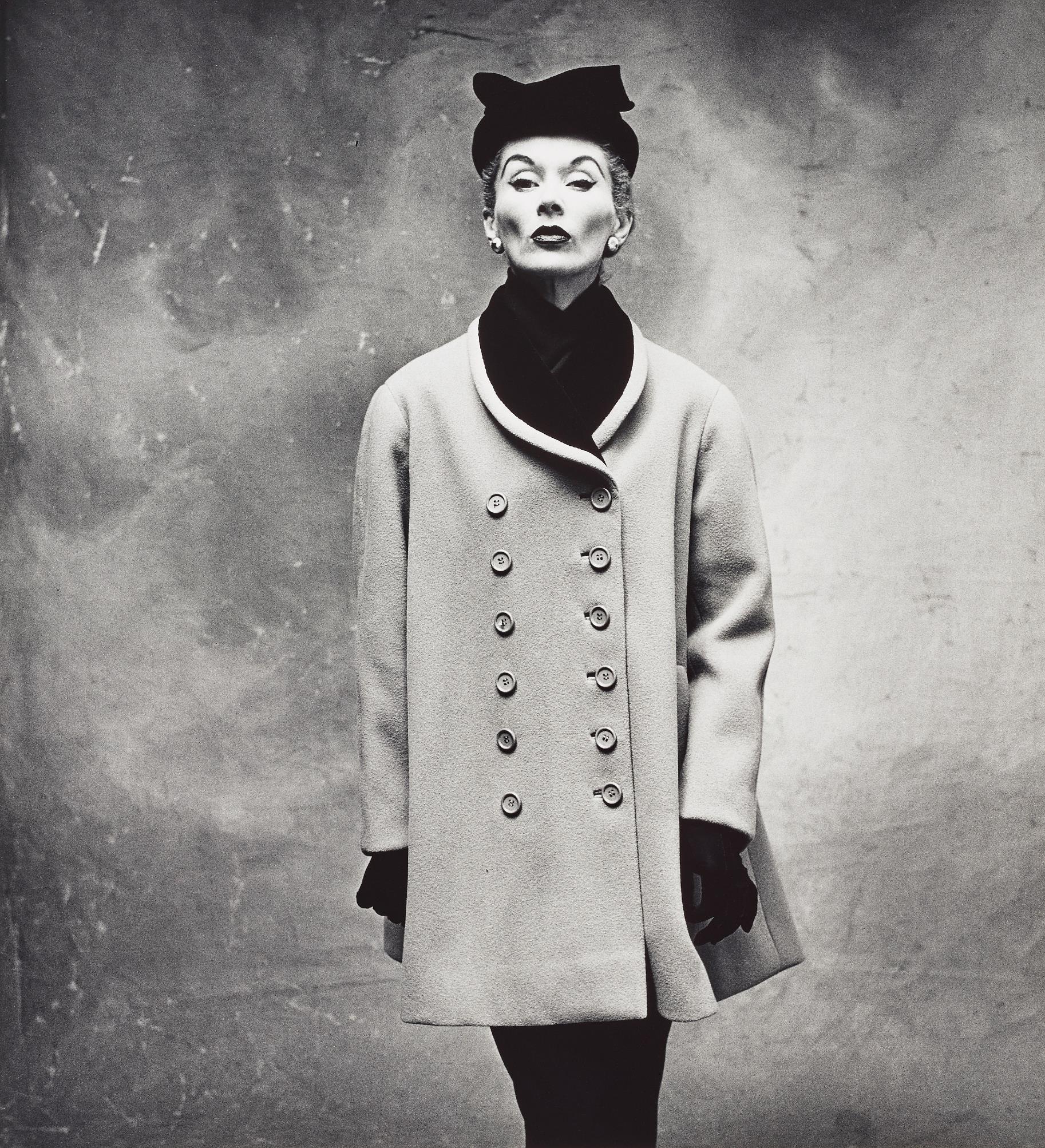 Irving Penn-Balenciaga 'Little Great' Coat (Lisa Fonssagrives-Penn), Paris-1950