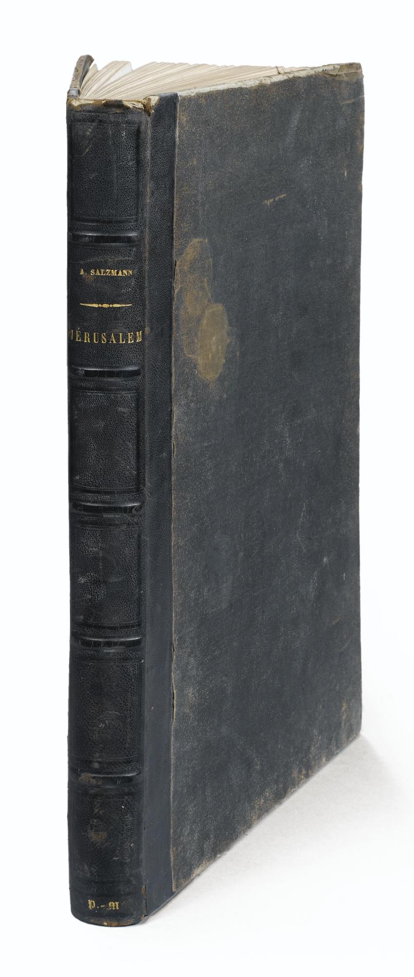 Auguste Salzmann-Jerusalem Monuments De La Ville Sainte-1856