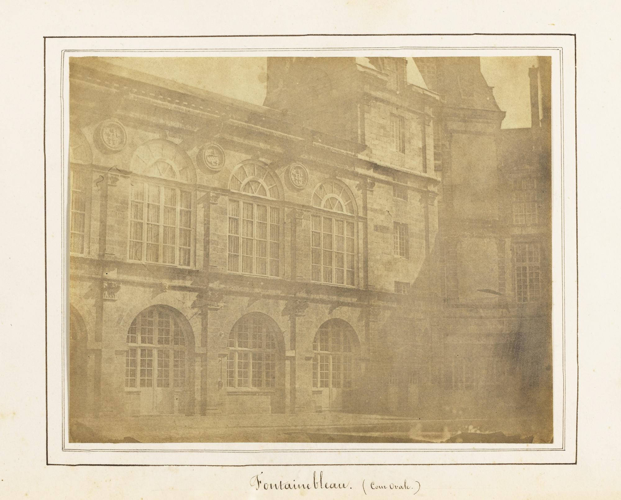 Marquis de Bassano-Nicolaas Henneman-Fontainebleau.(Cour Ovale)' Probablement Le 5 Juillet-1843