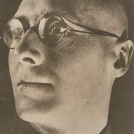 Alexander Rodchenko-Poet Sergei Tretyakov' Vers-1927