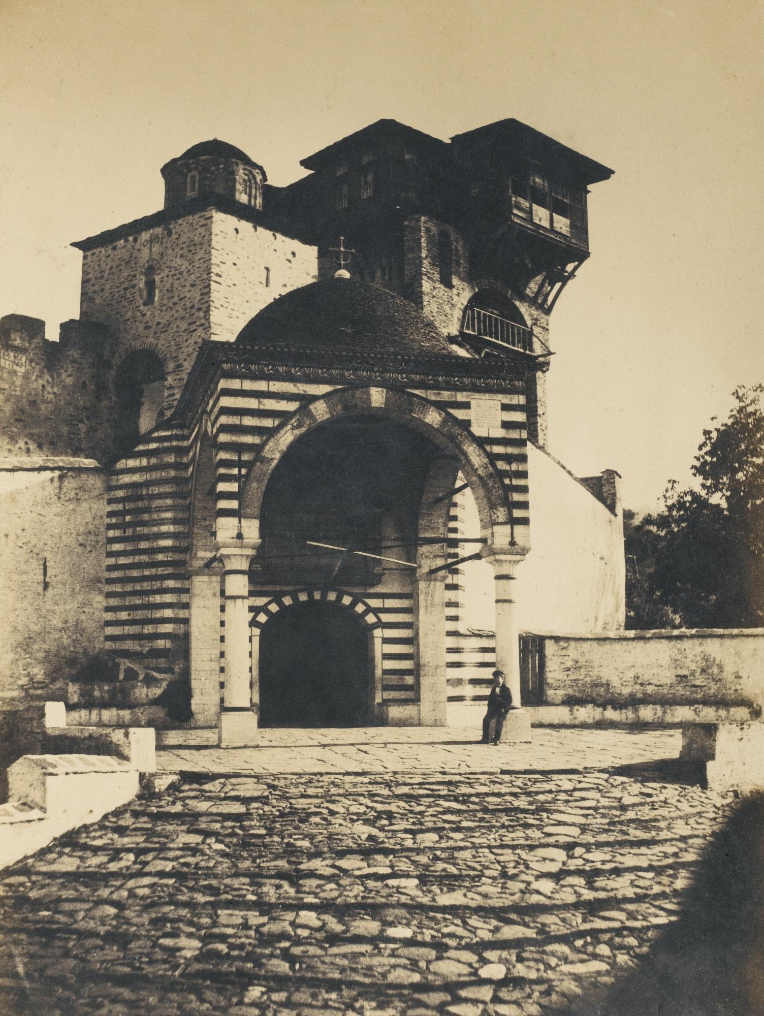 Emile Charles Labbe-Ernest de Caranza-Mont Athos Couvents Grecs Turquie-1853