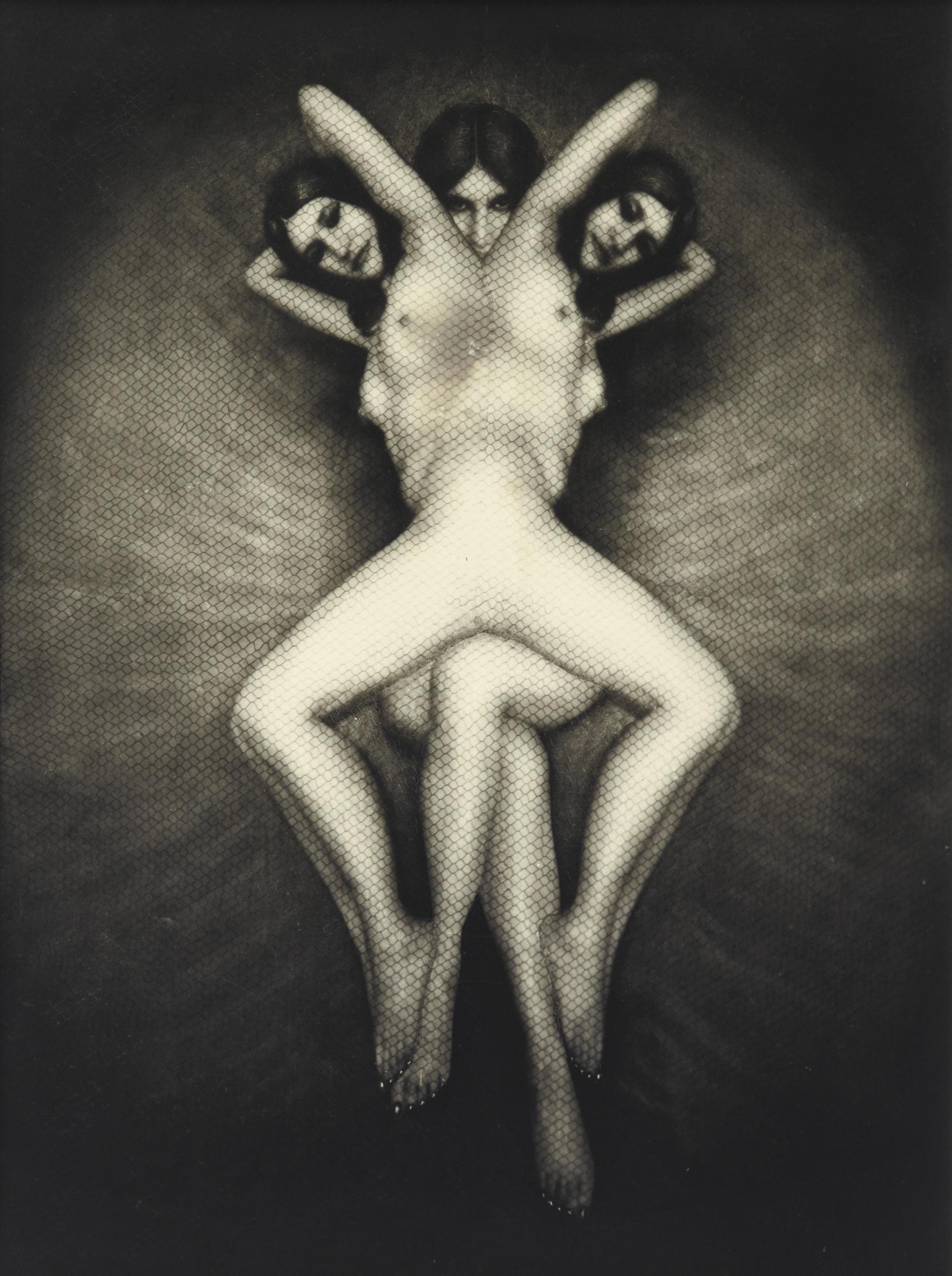 Pierre Molinier-Fleur D'Enfer Vers-1965