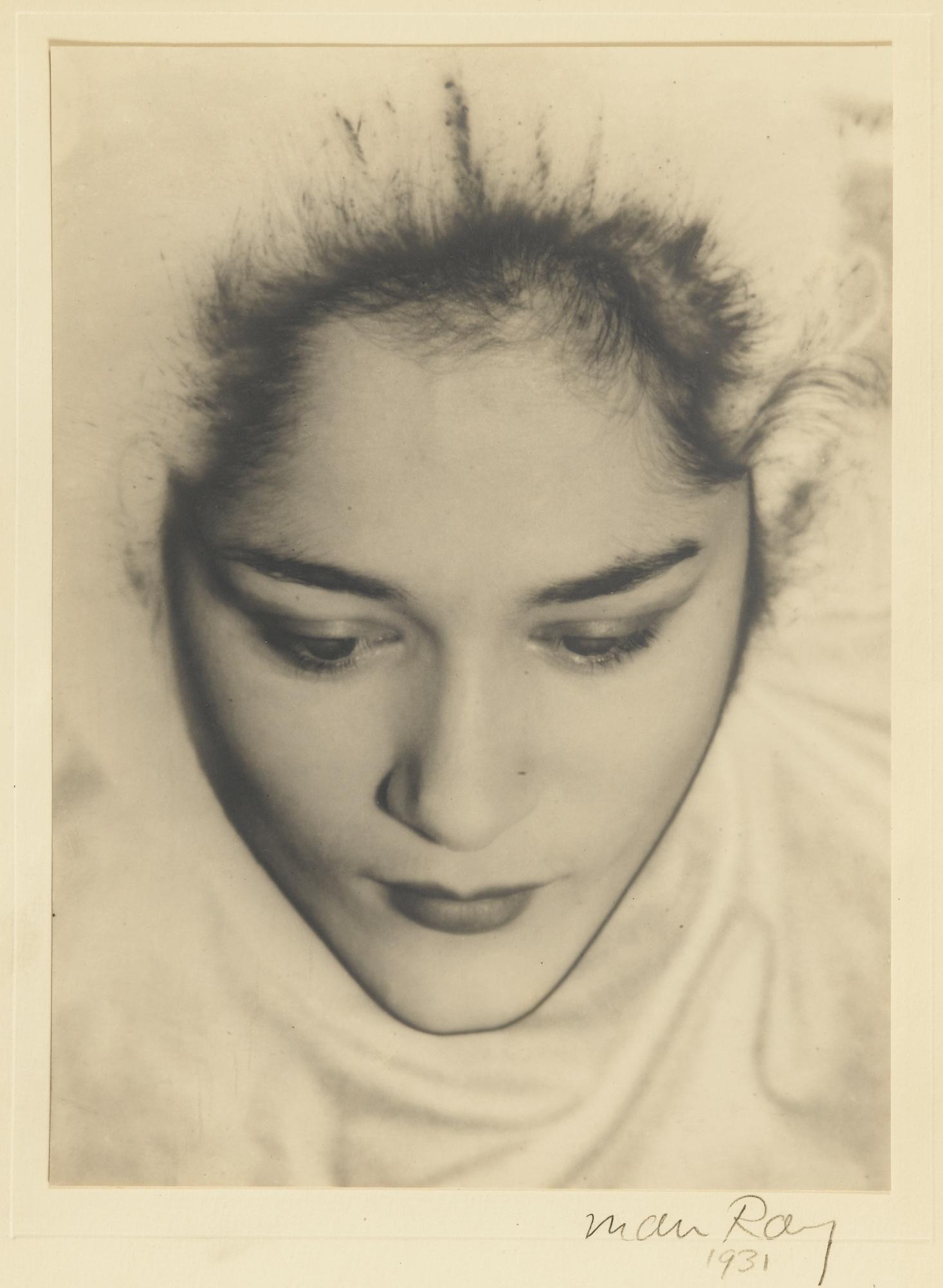 Man Ray-Tanja Ramm Portrait Solarise-1931