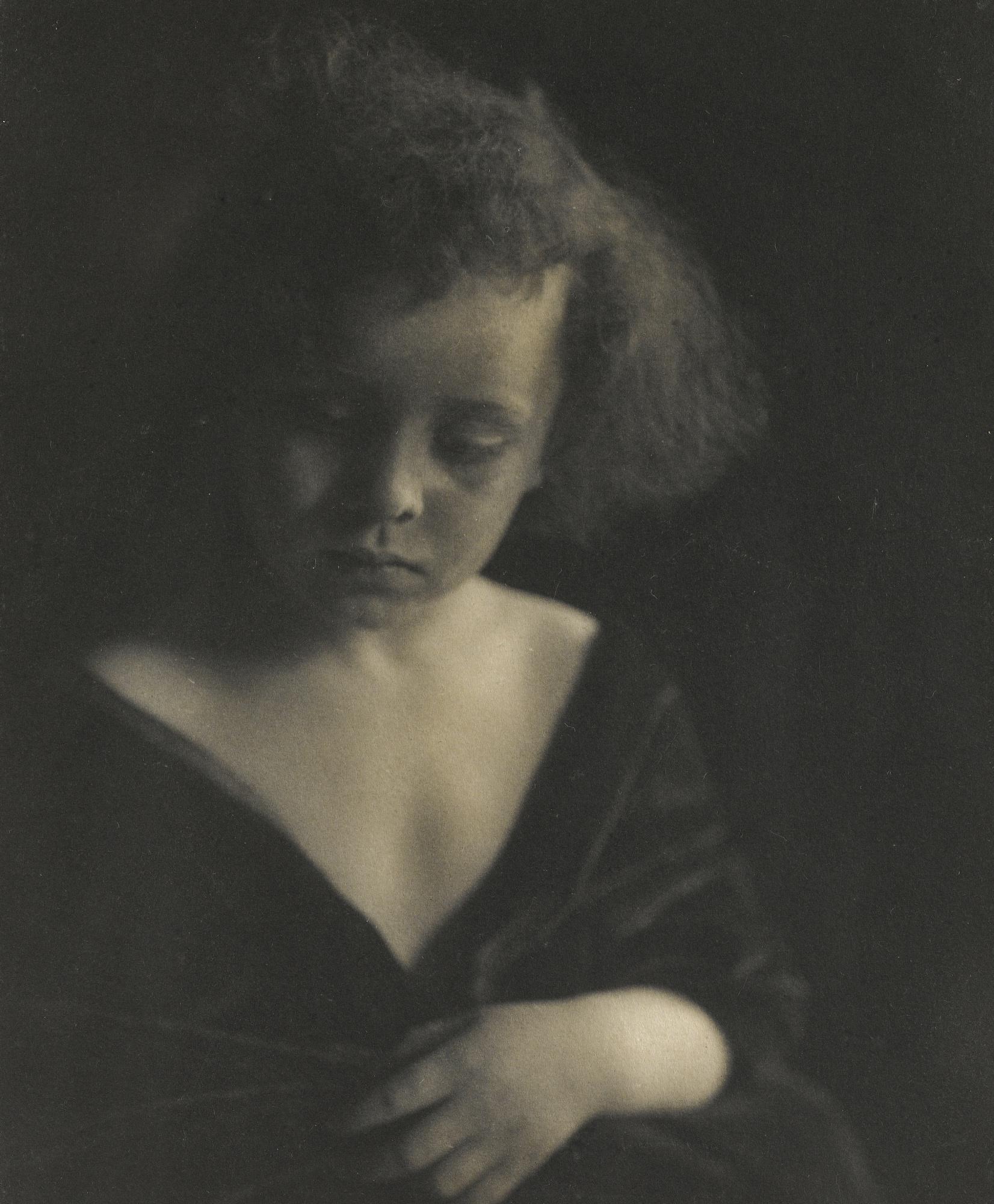 Gertrude Kasebier-Portrait D'Enfant Vers-1910