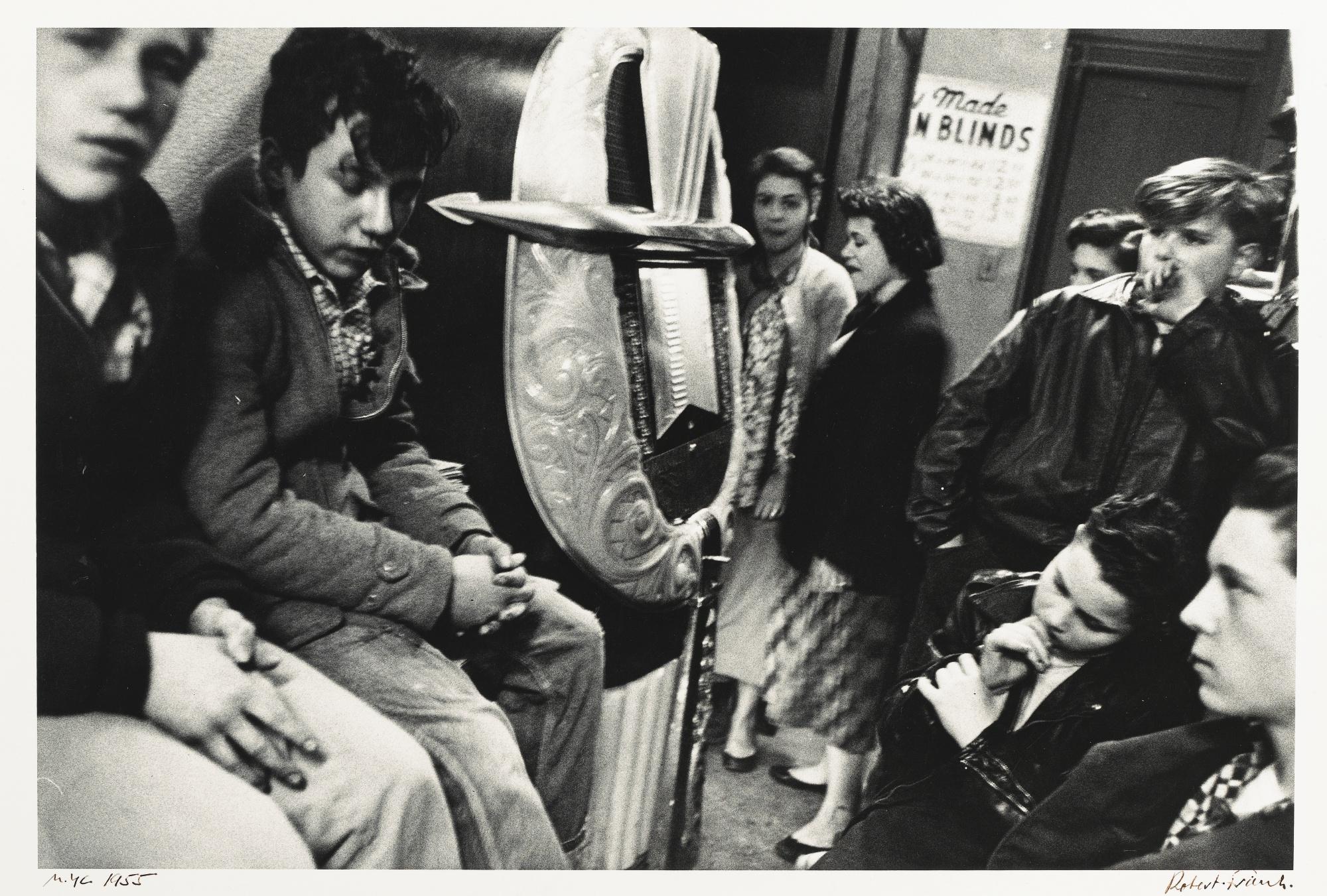 Robert Frank-Candy Store Upper West Side' New York-1955