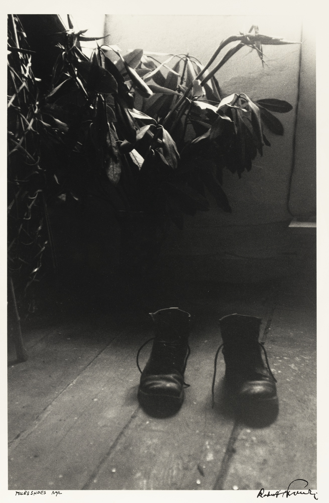 Robert Frank-Miles Shoes-1949