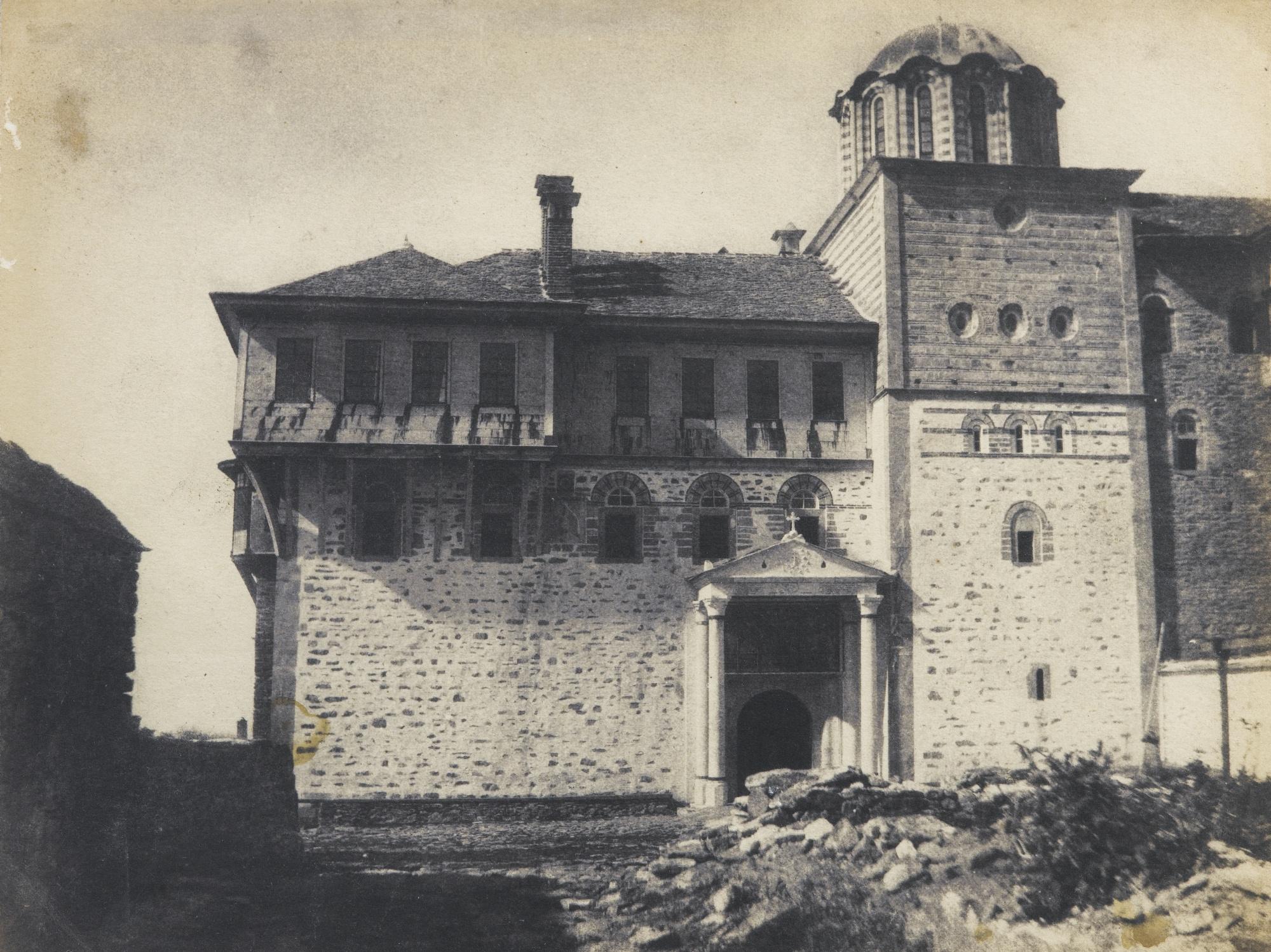 Emile Charles Labbe-Ernest de Caranza-Couvent Xeropotam Mont Athos-1853