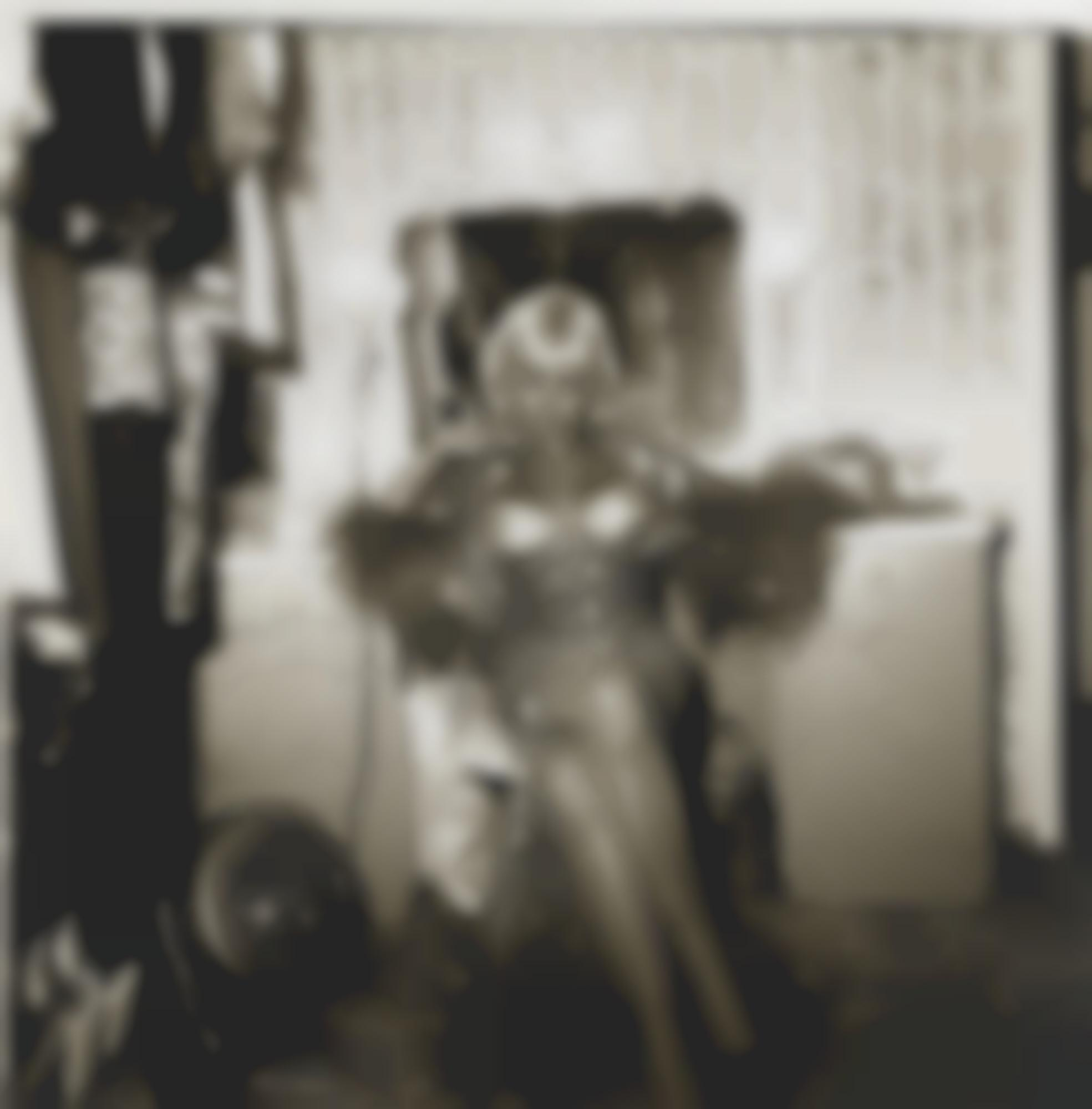 Diane Arbus-Topless Dancer In Her Dressing Room' San Francisco California-1968