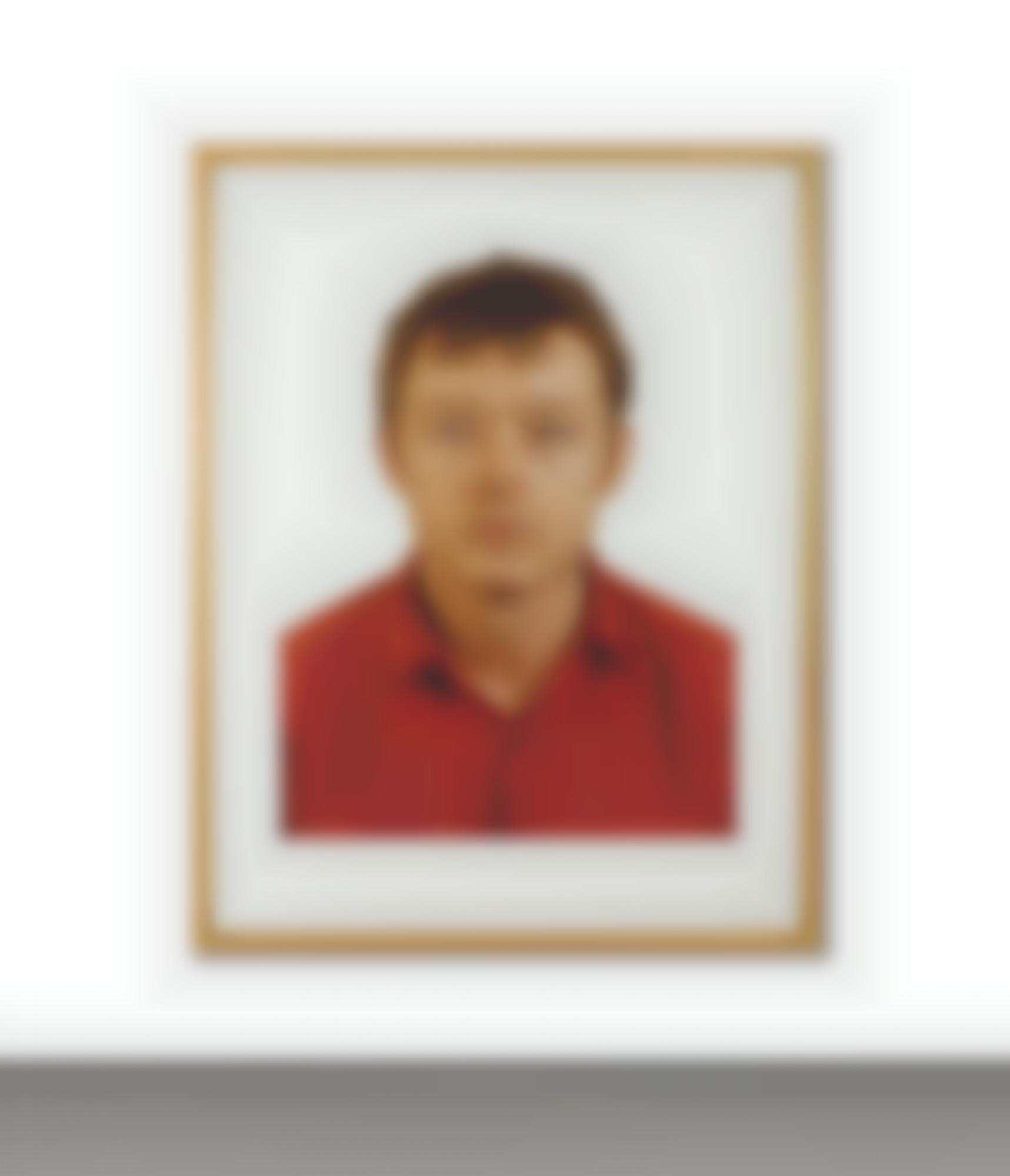 Thomas Ruff-Portrait F. Terhardt-1989