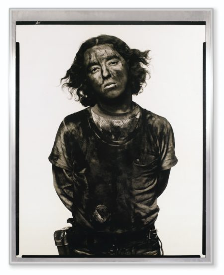 Richard Avedon-James Story Coal Miner' Somerset Colorado 12/18/79 De La Serie: In The American West-1979