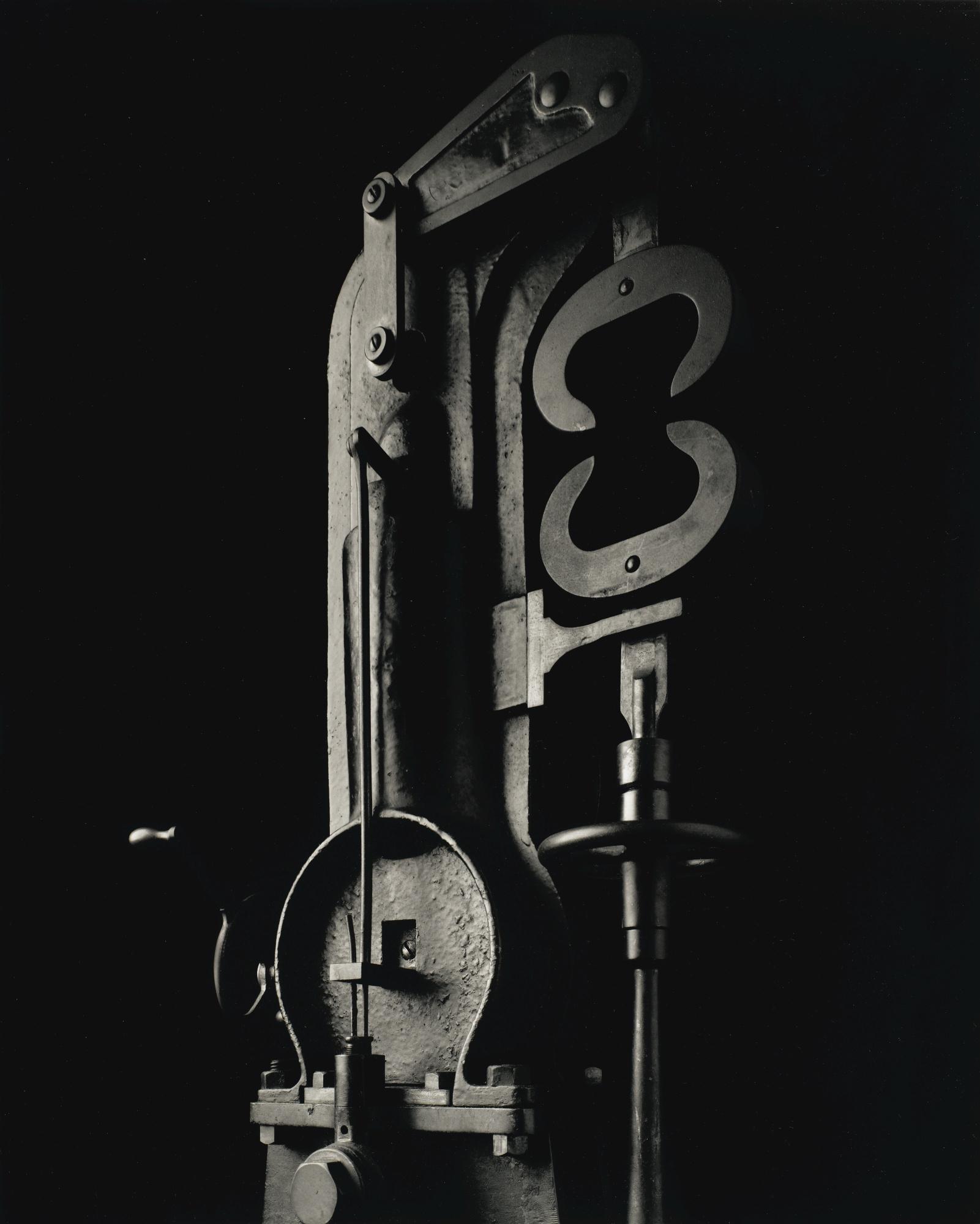 Hiroshi Sugimoto-Mechanical Form 0036 (Material Testing Machine)-2004