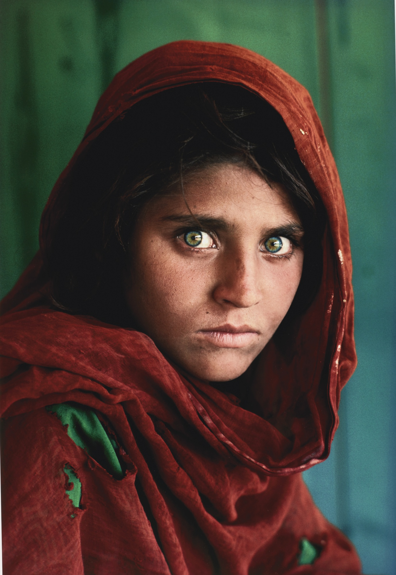 Steve McCurry-Sharbat Gula Afghan Girl Pakistan-1984