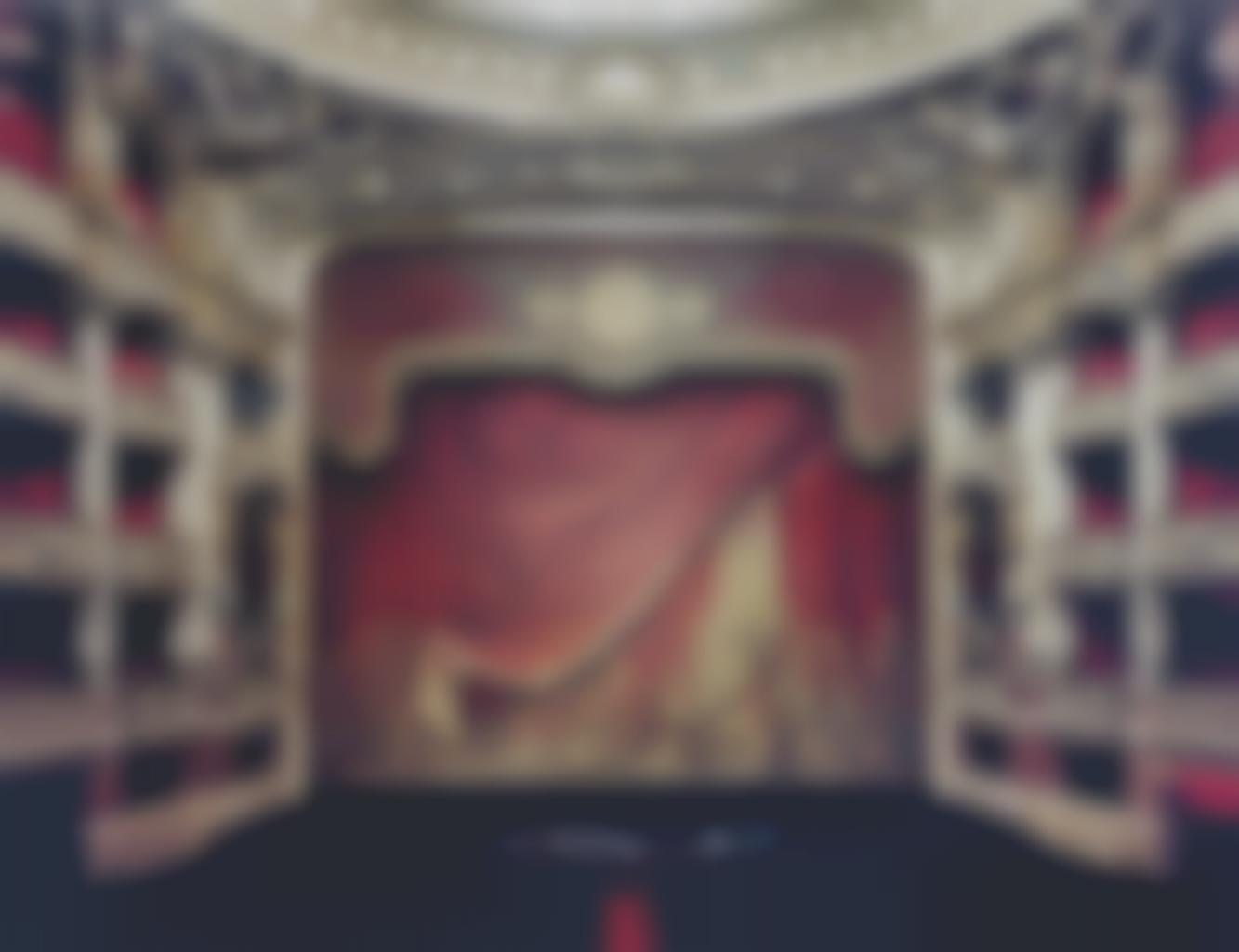 Candida Hofer-Palais Garnier, Paris XXXI-2005