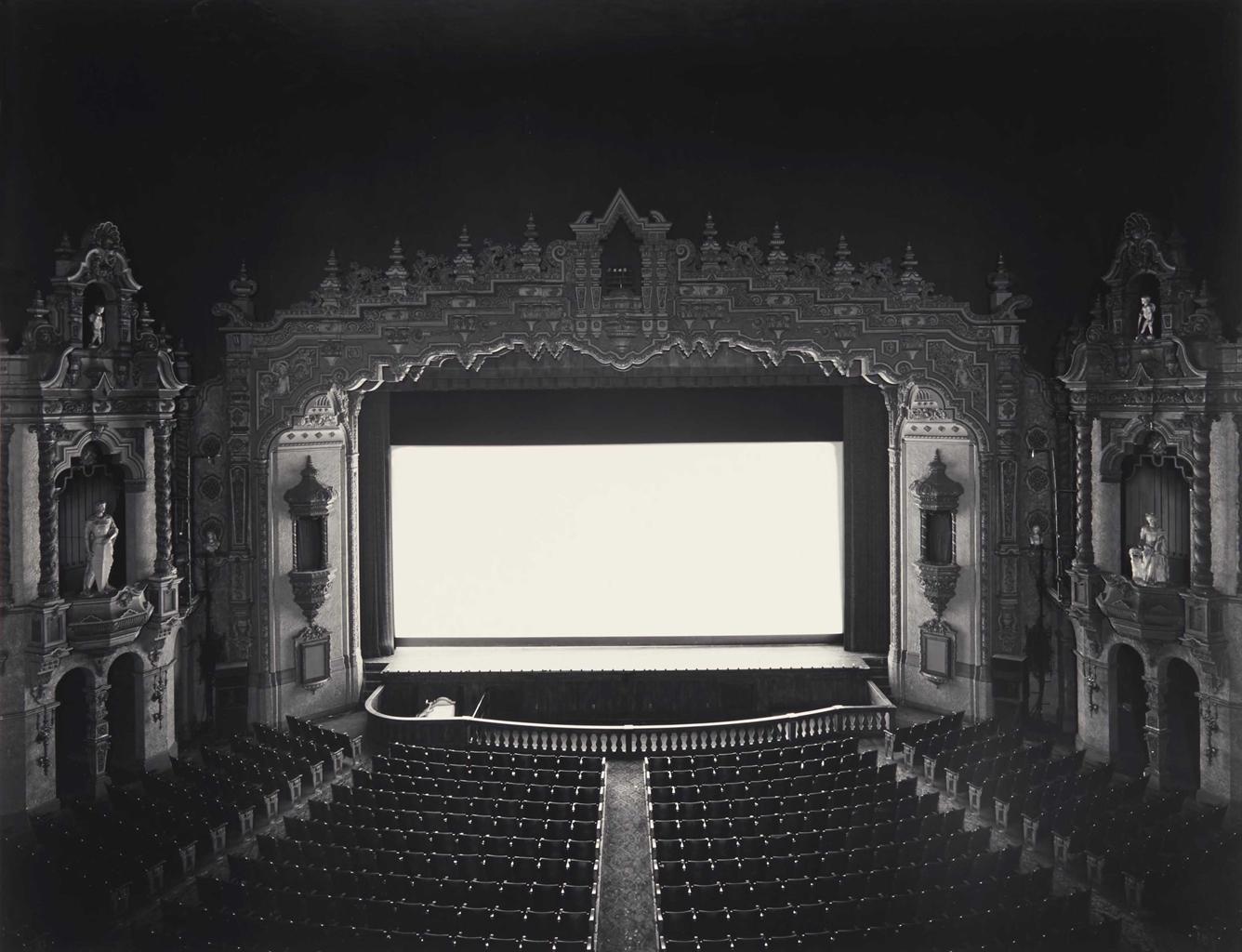 Hiroshi Sugimoto-Akron Civic Theatre, Ohio-1980