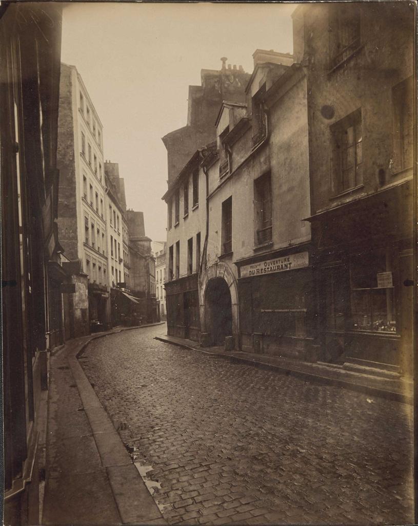 Eugene Atget-Rue Broca, Paris-1912